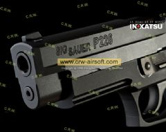 Discount! Inokatsu SIG SAUER P226 Rail CNC Steel (CO2 Version)